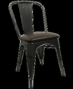 8517-Flori-Metal-Dining-Chair-Padded-Sea