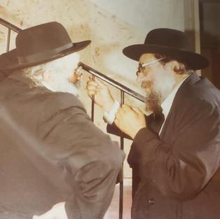Reb Gedalia Nadel, Reb Chaim Graineman