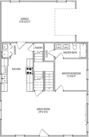 Realtor Plan Main Level - PP Lot 12 (1).