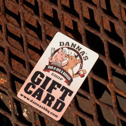 Danna's Gift Card - $10