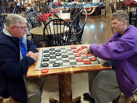 Who uses an adult day center?