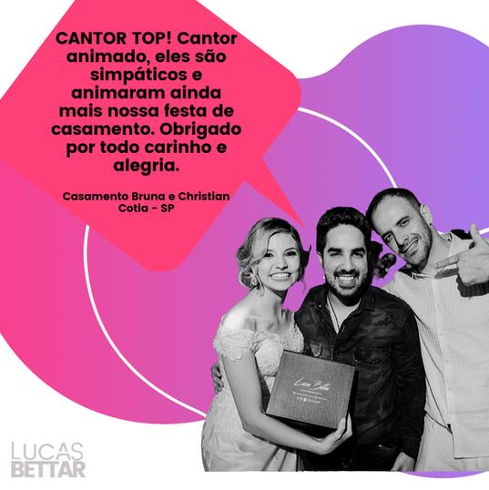 Cantor para festas e eventos - Lucas Bettar