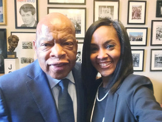 """Hold on and Keep the Faith!"" - Congressman John Lewis"