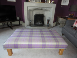 Giant square tartan