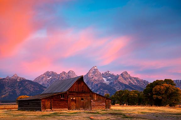 Grand Teton Sunnrise