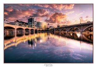 Two Bridges Sunset