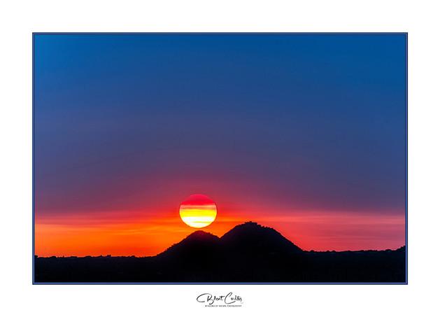 Smokin' Sonoran Sunset