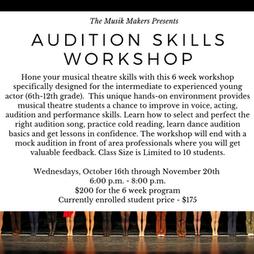 Audition Skills Workshop