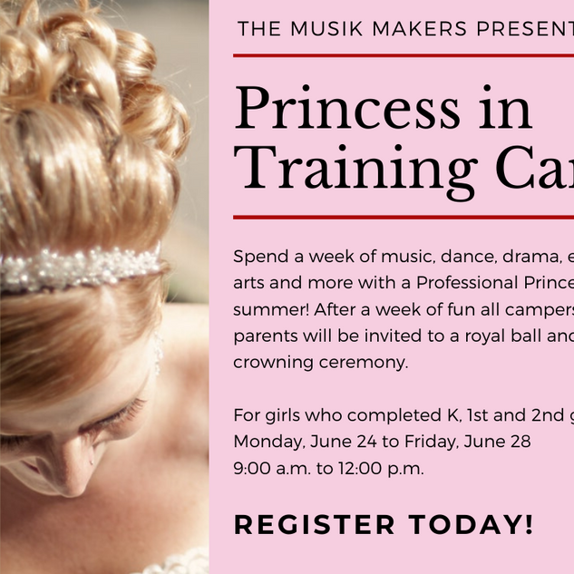 Princess in Training Camp