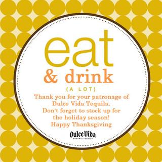 Thanksgiving Ad for Restaurants