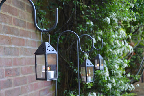 Shepherd's Crook and Mini Hanging Lantern