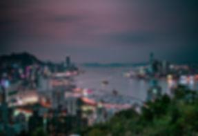 Hong Kong SKYLINE SUNSET