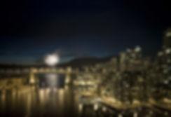 FIREWORKS BURRAD BRIDGE VANCOUVER CANADA