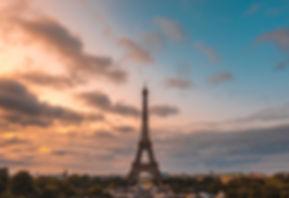 PARIS EIFFEL TOWER SUNRISE