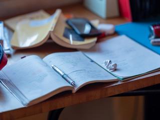 早い時期から受験勉強を!
