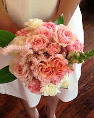 Chandelier Events pink bridal bouquets