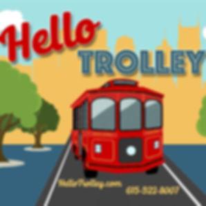Nashville Trolley Rental | Hello Trolley | Franklin Trolley Tours