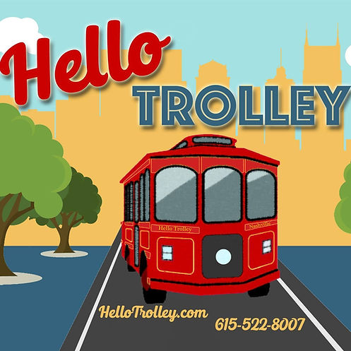 Nashville Trolley Rental | Hello Trolley | Franklin Trolley Tours