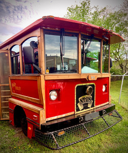 Hello Trolley Small Red