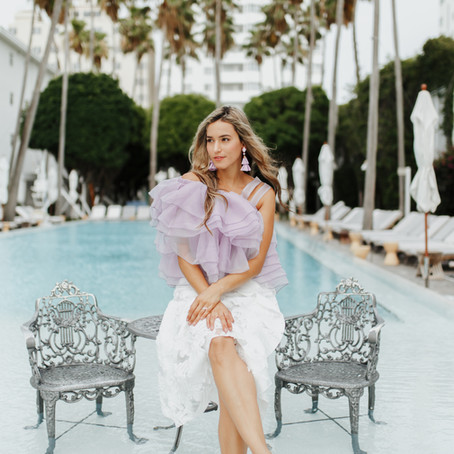 Miami Fashion Week 2018 Inspiration:  How to Create 2 Beautiful but Different Outfits Using the Same