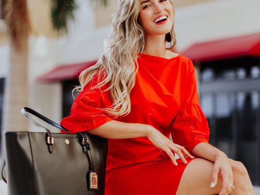 Red to Impress: Lauren Ralph Lauren