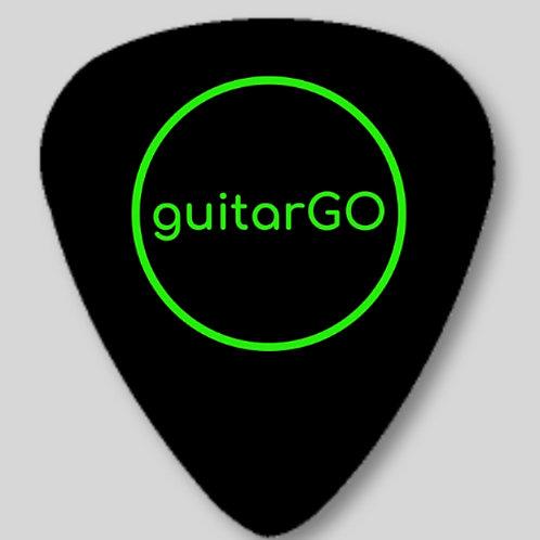 guitarGO Black & Green Pick