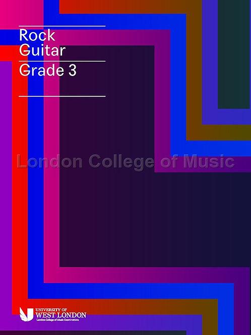 LCM Rock Guitar Grade 3
