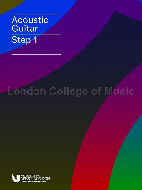 LCM Acoustic Guitar - Step 1