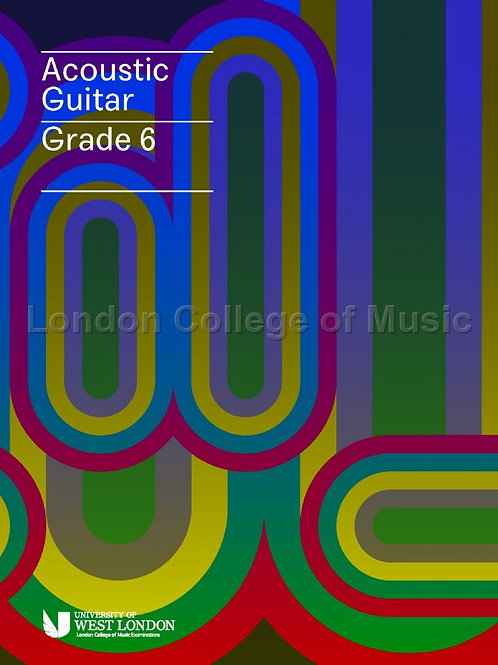 LCM Acoustic Guitar - Grade 6