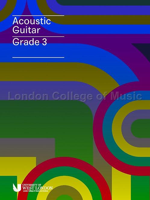 LCM Acoustic Guitar - Grade 3