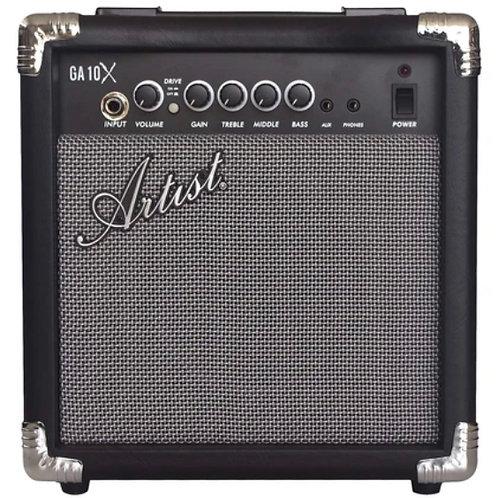 ARTIST GA10X 10 WATT GUITAR PRACTICE AMPLIFIER WITH MP3 INPUT