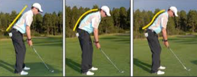 postural training to improve golf performance