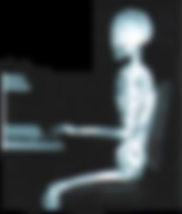good computer posture