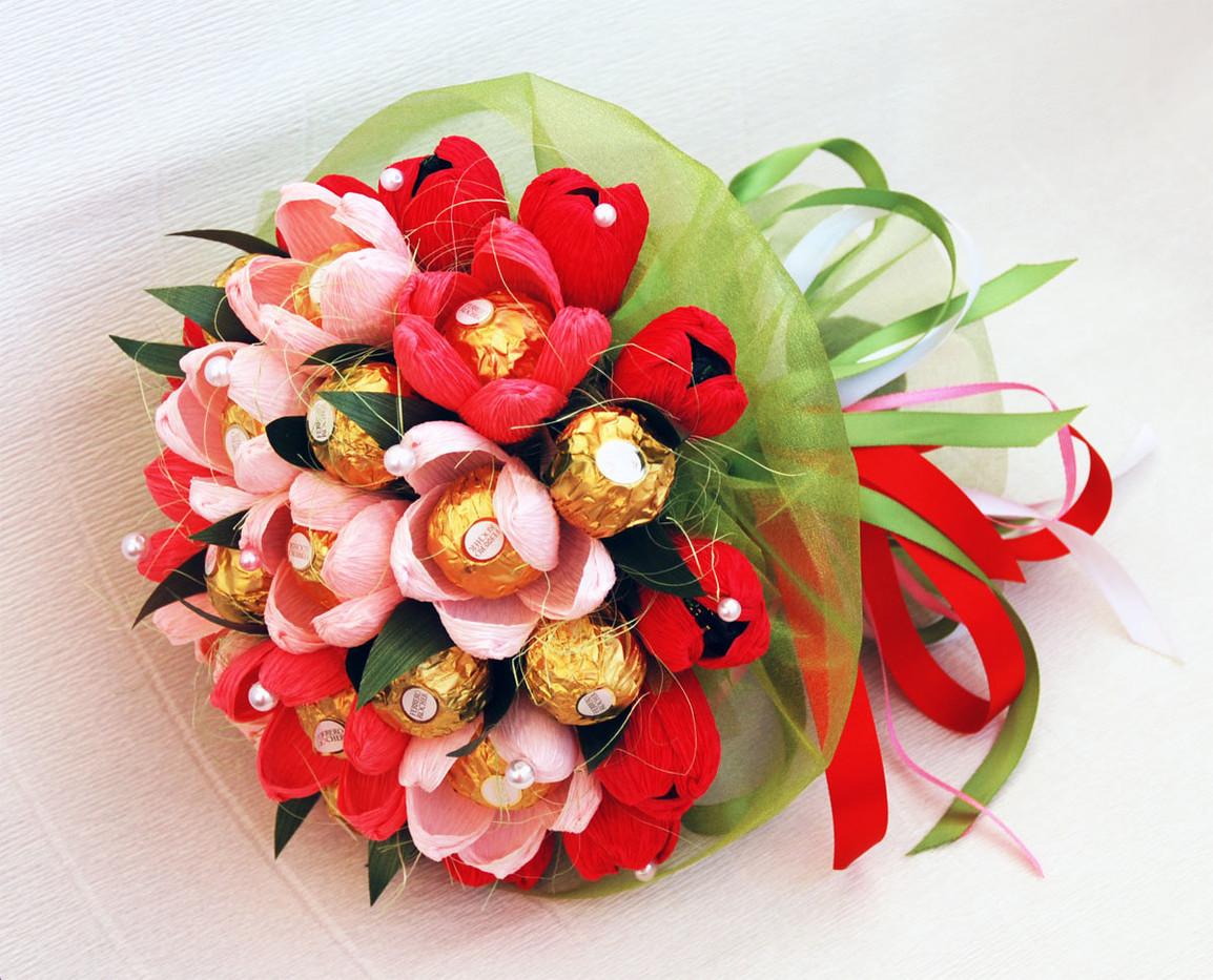 вкусные букеты подарок приятный подарок