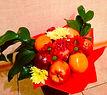 необычные букеты из фруктов