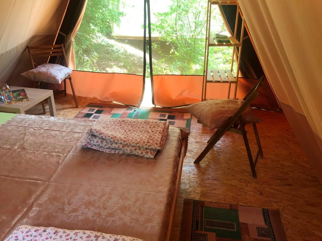 вид из шатра