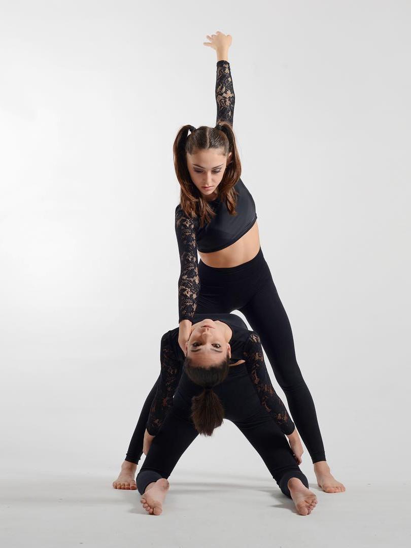 Stella Ferrer et Pauline Garcia