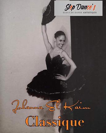 danse classique ecole de danse step dance's saint victoret marignane