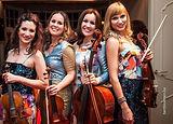 ISQ String Quartet Vivaldi Metal Project