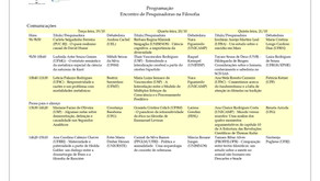 Programação do Encontro de Pesquisadoras na Filosofia