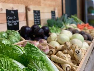 Légumes de le region