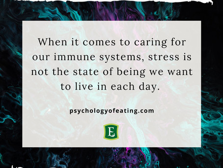 TIPS FOR STRESS AND THE IMMUNE SYSTEM