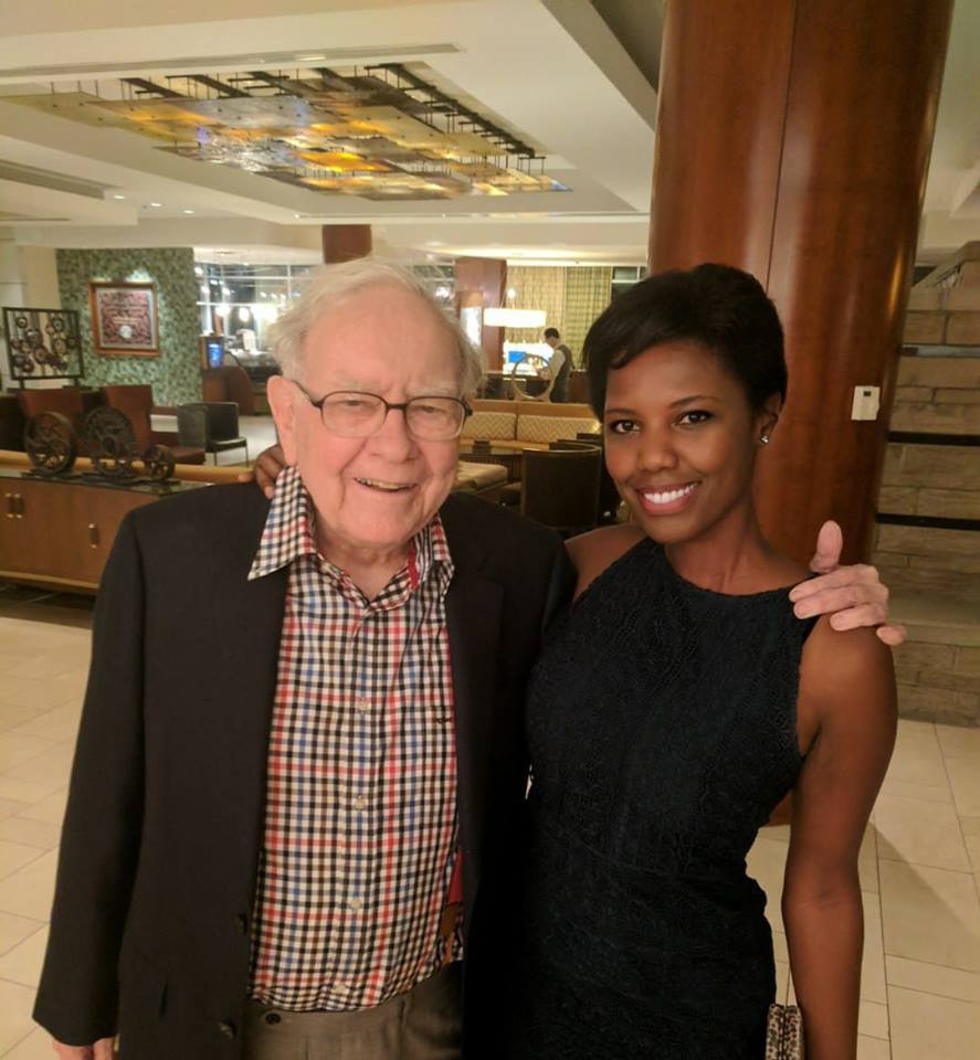 Shonna Dorsey with warren buffett