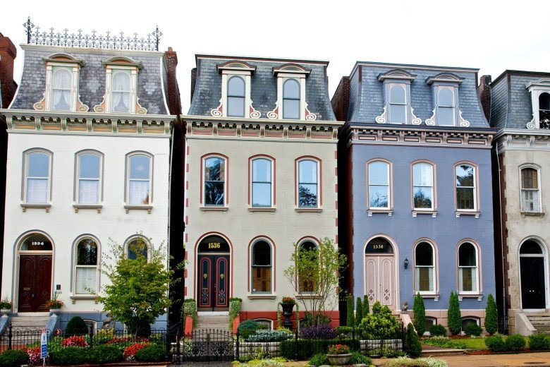 Lafayette Square painted ladies