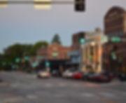 street in benson district in omaha