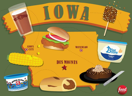 What should you eat in Iowa?