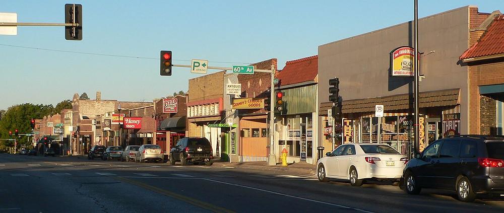 maple street in benson omaha nebraska