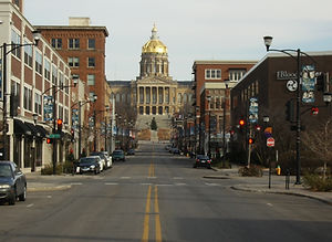 iowa state capitol in the east village