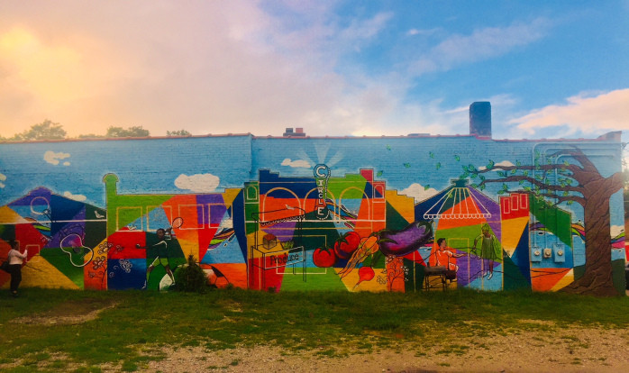 gifford park mural in omaha