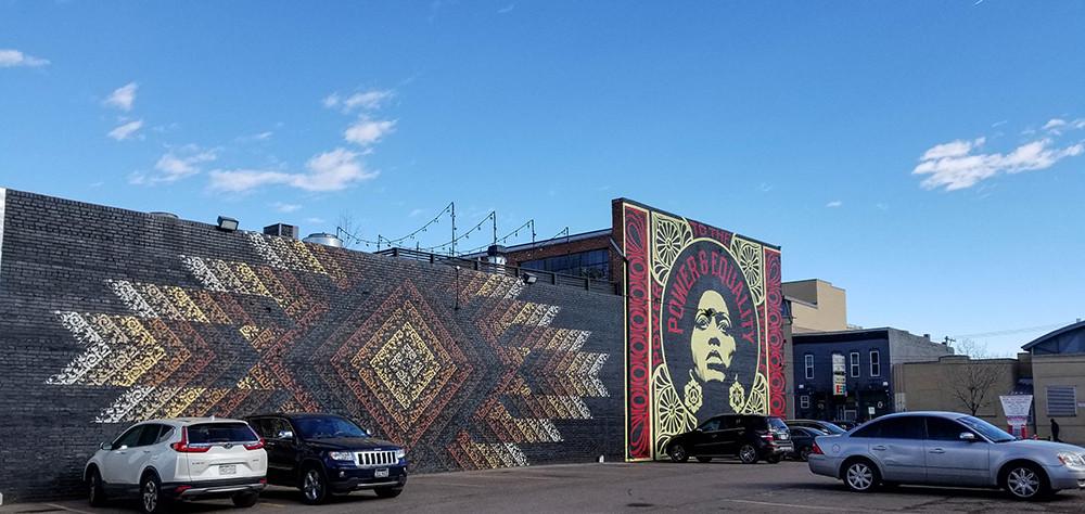 Mural in Denver's RiNo District